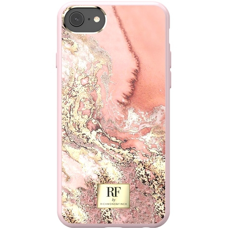 RF by Richmond & Finch Pink Marble Mobil Cover - iPhone 6/7/8