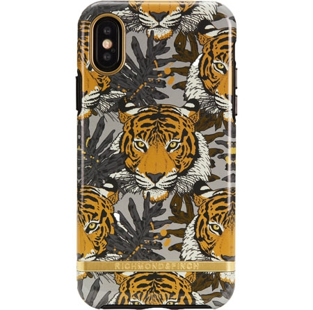 Richmond & Finch Tropical Tiger Mobil Cover - iPhone Xs