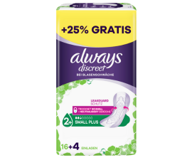 Always Diskret Små Plus Binda - 20 PCS