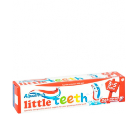Aquafresh Little Teeth 3-5 år Tandkräm - 50ml