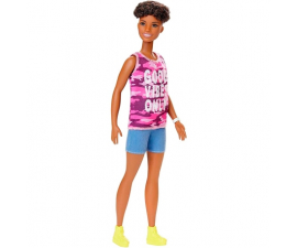 Barbie Fashionistas Original Docka med Lockar