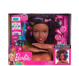 Barbie Rainbow Sparkle Deluxe Styling Head