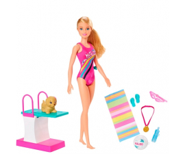Barbie Swimmer Leksaksset