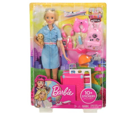 Barbie Dreamhouse Docka & Reseset