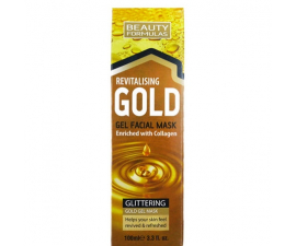 Beauty Formulas Gold Gel Ansiktsmask - 100ml
