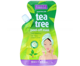 Beauty Formulas Tea Tree Peel-off Ansiktsmask - 50ml