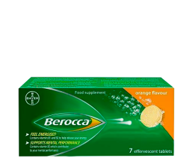 Berocca Vitamin Tabletter - 7 st