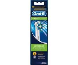 Oral-B Cross Action Borsthuvud  - 3 st