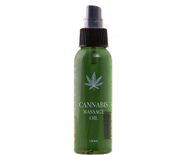 Cannabis Massageolja - 100ml
