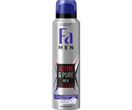 Fa Men Aktiva & Ren Deodorant - 150 Ml