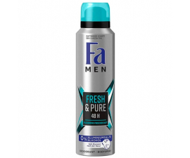 Fa Men Färsk & Ren Deodorant - 150 Ml