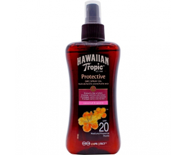 Hawaiian Tropic Protective Dry Spray SPF20 - 200ml