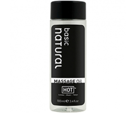 HOT Massageolja Pure Basic - 100ml
