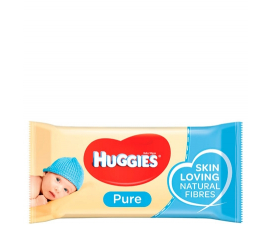 Huggies Baby Wipes Pure - 56 st.