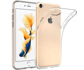 BasicPlus iPhone 8+ Cover - Transparent