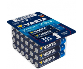 Varta Longlife Power AAA Batterier - 24 st