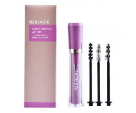 M2 Beauté 3 Looks Nano Mascara - Svart