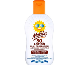 Malibu High Protection Kids Solkräm SPF 50 - 200ml