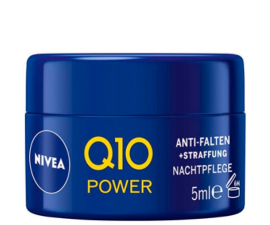 Nivea Q10 Anti-Wrinkle Natt kräm - 5 ML