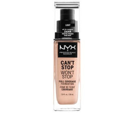 NYX Can't Stop Won't Stop Foundation - Light