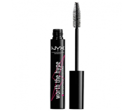 NYX Worth The Hype Waterproof Mascara - Svart