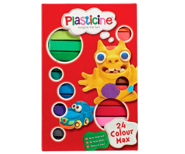 Plasticine Colour Max - 24 st