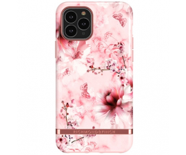 Richmond & Finch Pink Marble Floral Mobil Cover - iPhone 11 Pro