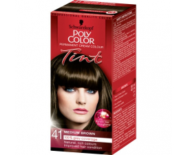 Schwarzkopf Poly Color Tint Hårfärg - 41 Medium Brown