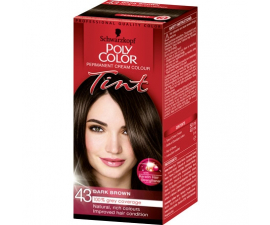 Schwarzkopf Poly Color Tint Hårfärg - 43 Dark Brown