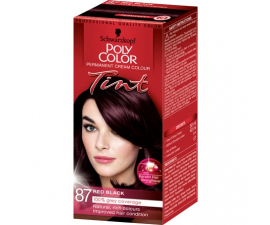Schwarzkopf Poly Color Tint Hårfärg - 87 Red Black