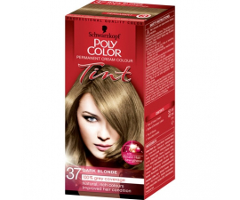 Schwarzkopf Poly Color Tint Hårfärg - 37 Dark Blonde