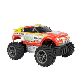 Rastar Pajero Evolution Dakar Rally R/C Bil 1:18