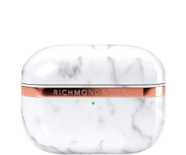 Richmond & Finch Airpods Proffs Fall - Vit Marmor