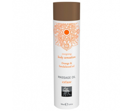 Shiatsu Orange & Sandalwood Massageolja - 100ml
