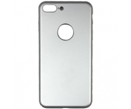 BasicPlus iPhone 8 Cover - Silver