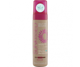 SUNkissed Brun utan Sol Mousse - Medium