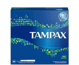 Tampax Tampons Super - 20 st.