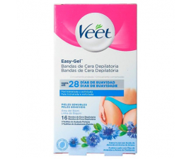 Veet Easy-Gel Bikini Wax Strips - 16 st