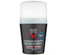 Vichy Homme Anti-Transparent 48H Deodorant - 50ML