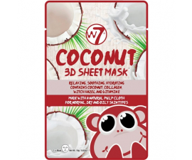 W7 3D Coconut Sheet Mask