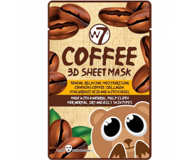 W7 3D Coffee Sheet Mask