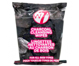 W7 Charcoal Cleansing Wipes - 25 st