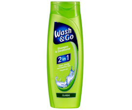 Wash & Go 2 I 1 Schampo & Balsam - 400 Ml