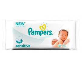 Pampers Sensitive Wet Wiped med Kamomill