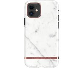 Richmond & Finch White Marble Mobil Cover - iPhone 11