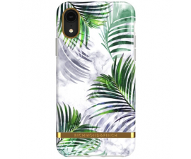 Richmond & Finch White Marble Tropics Mobil Cover - iPhone XR