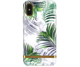 Richmond & Finch White Marble Tropics Mobil Cover - iPhone X/XS