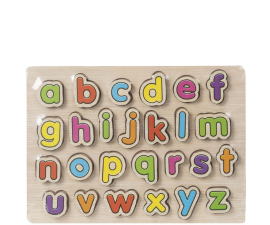 Wood Works Chunky Puzzle Alfabet