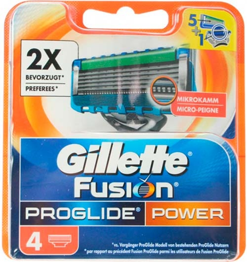 Gillette Fusion ProShield Chill 4-pack