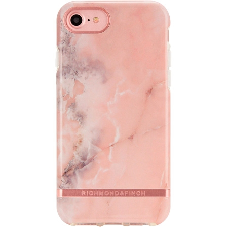 Richmond & Finch Pink Marble Mobil Cover - iPhone 6/7/8